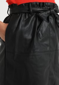 ONLY - Leather skirt - black - 5