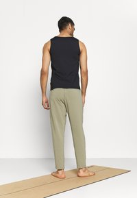 adidas Performance - MENS YOGA PANT - Tracksuit bottoms - orbit green - 2