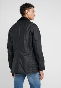 Barbour - ASHBY WAX JACKET - Summer jacket - navy - 2