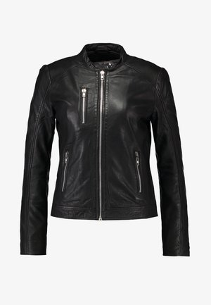 VESLA EWA - Leather jacket - black