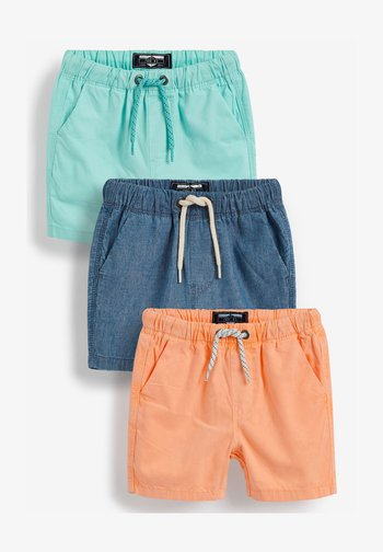 3 PACK - Shorts - blue