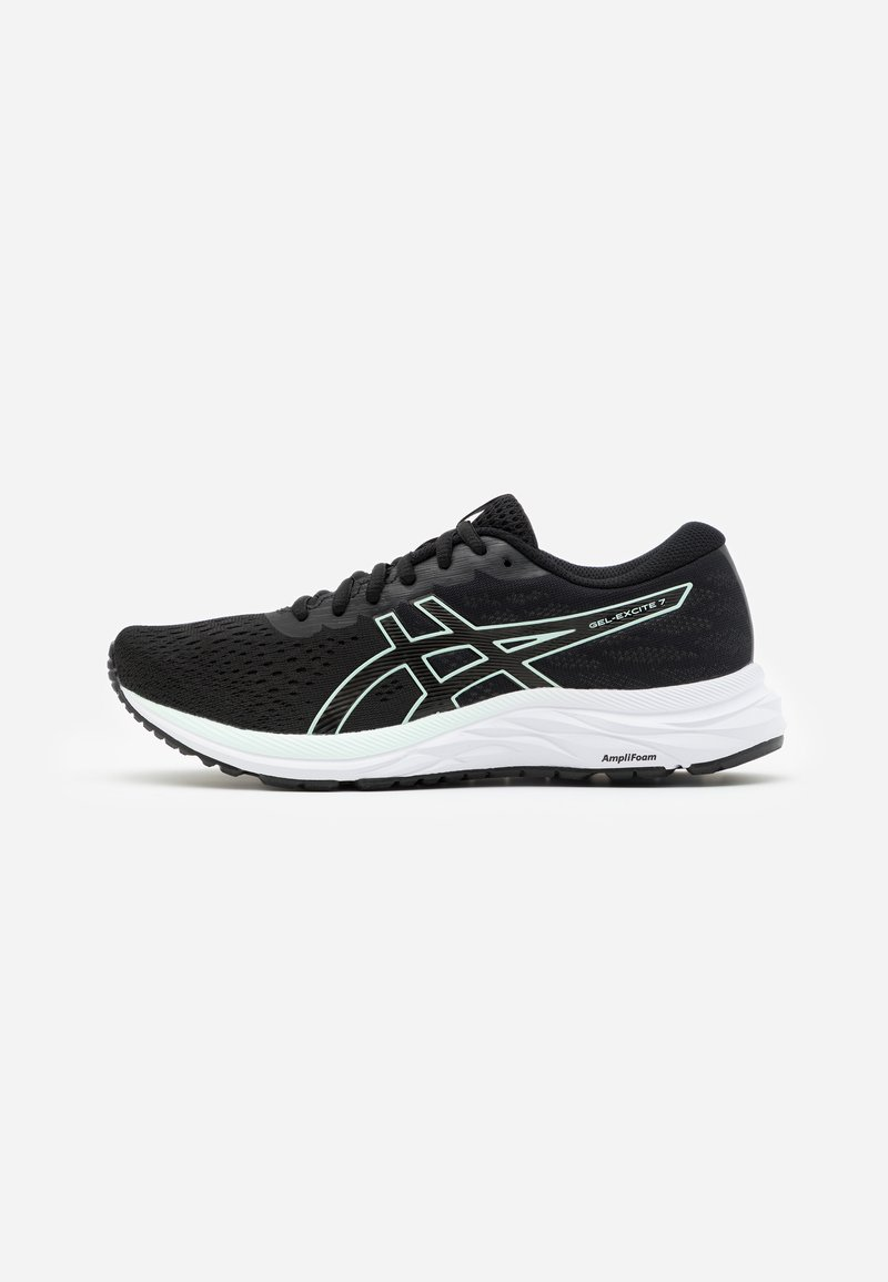 ASICS - GEL-EXCITE 7 - Zapatillas de running neutras - black/bio mint