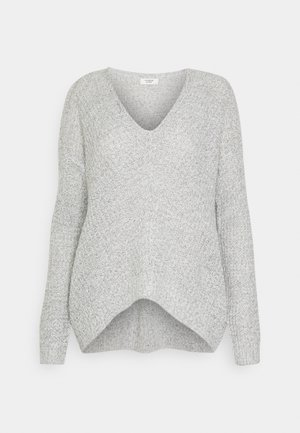 JDYNEW MEGAN - Jumper - cloud dancer/black
