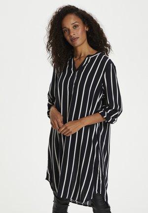 Day dress - black/chalk stripe