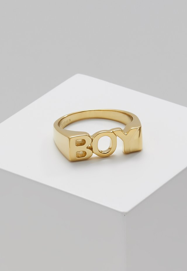 BOY - Ringe - gold-coloured