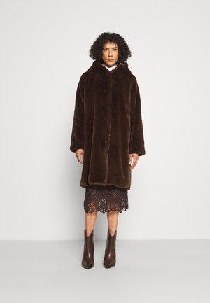 OUTDOOR - Classic coat - onyx brown