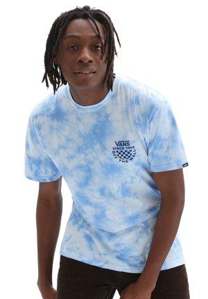 Print T-shirt - nautical blue