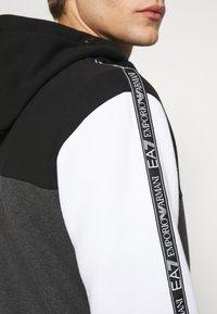 EA7 Emporio Armani - SET - Tracksuit - black/white - 7