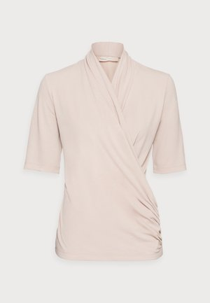 BEN BLOUSE - Print T-shirt - powder beige