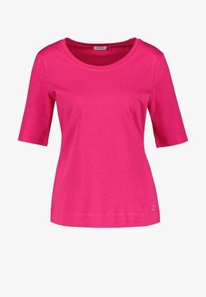 Basic T-shirt - azalea