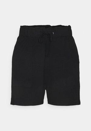 PCNEORA FRILL - Shorts - black