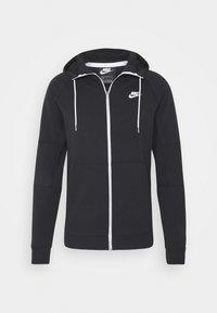Nike Sportswear - Zip-up hoodie - black/ice silver/white - 4