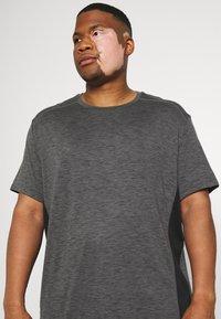 Johnny Bigg - ACTIVE INSERT TEE - T-shirt imprimé - charcoal - 3