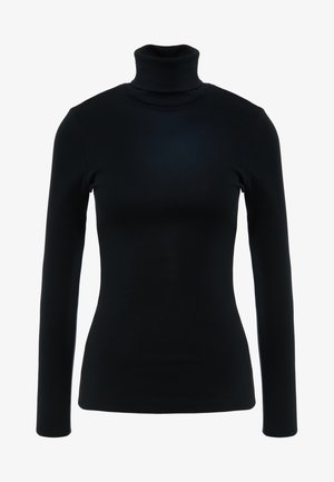 PERFECT FIT TURTLENECK - Long sleeved top - black