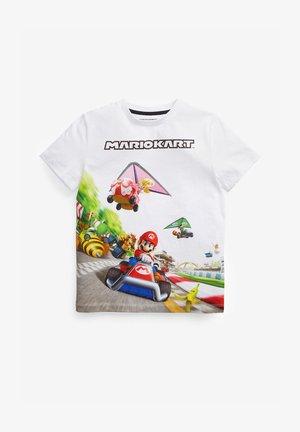 MARIO - Print T-shirt - white