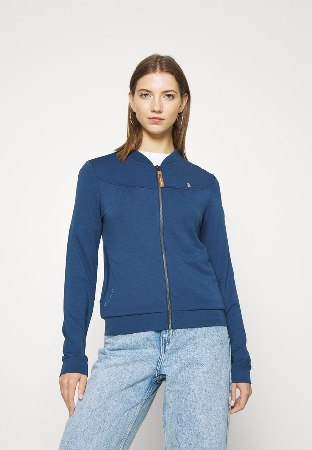 KENIA - veste en sweat zippée - denim blue