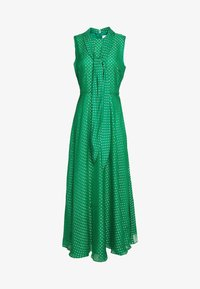 LK Bennett - DR CONNIE - Maxi šaty - emerald green/ivory - 8