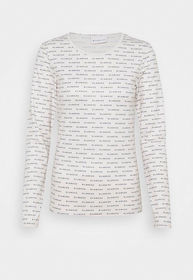 COMFY DRAW - T-shirt à manches longues - ecru