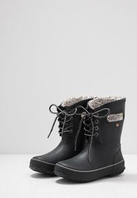 Bogs - AMANDA PLUSH LACE - Winter boots - black - 3