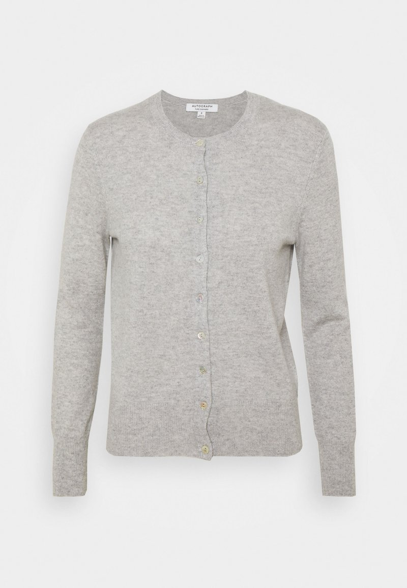 Marks & Spencer London - CREW - Kardigan - grey