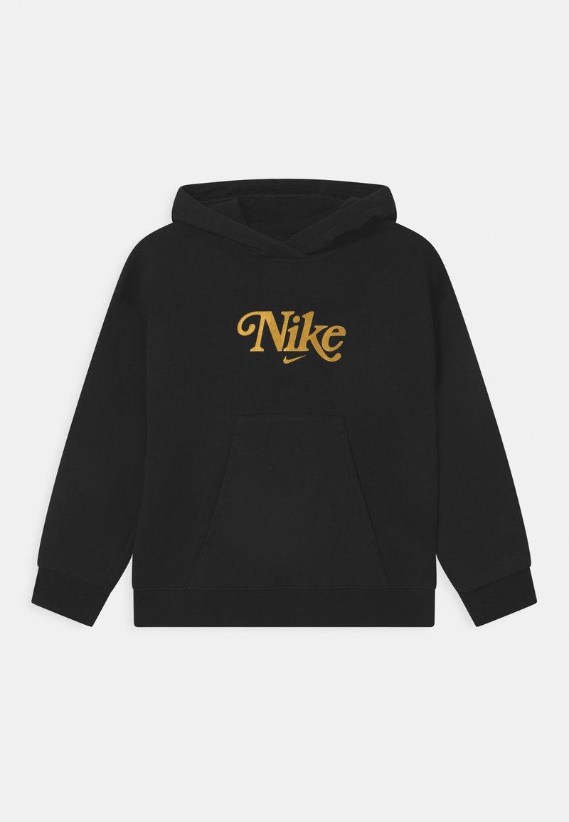 Nike Sportswear - CLUB ENERGY - Sweatshirt - black/metallic gold