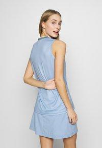 Cross Sportswear - SALLY SOLID - Polotričko - forever blue - 2