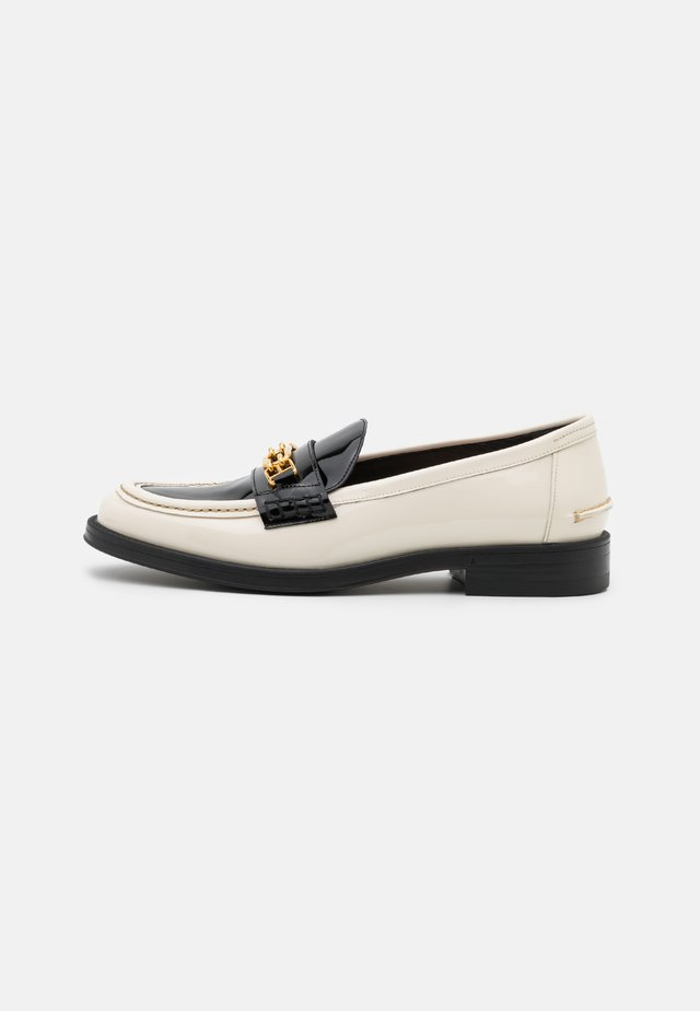 ELODIE FLAT - Loafers - bone