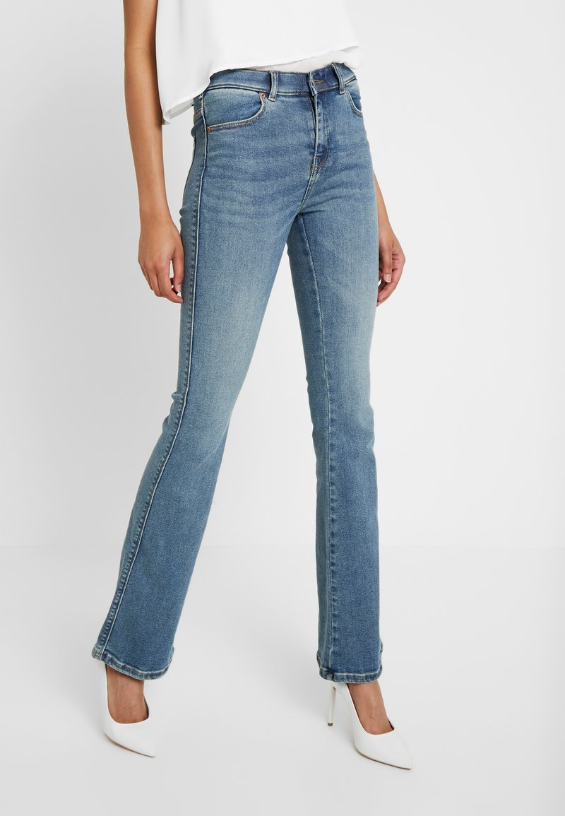 Dr.Denim Tall - SONIQ - Flared Jeans - west coast blue