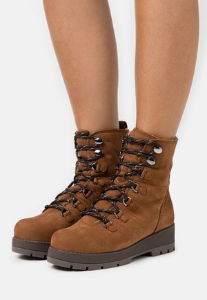 FRODO - Lace-up ankle boots - toast