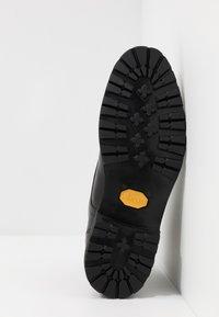 Prime Shoes - Šněrovací kotníkové boty - buttero black - 4