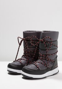 Moon Boot - BOY SPORT WP - Bottes de neige - black/castlerock - 3