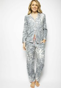 Cyberjammies - Pyjama top - grey leaf - 1