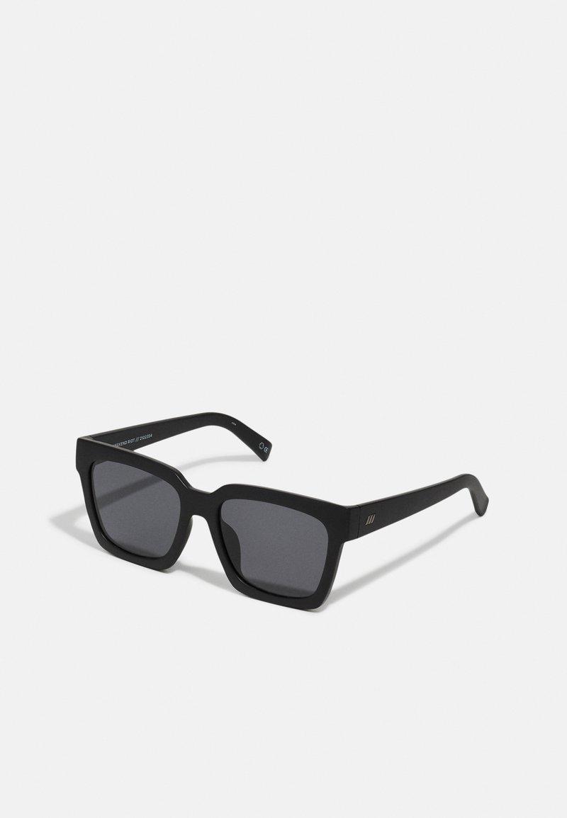 Le Specs - WEEKEND RIOT - Sunglasses - matte black