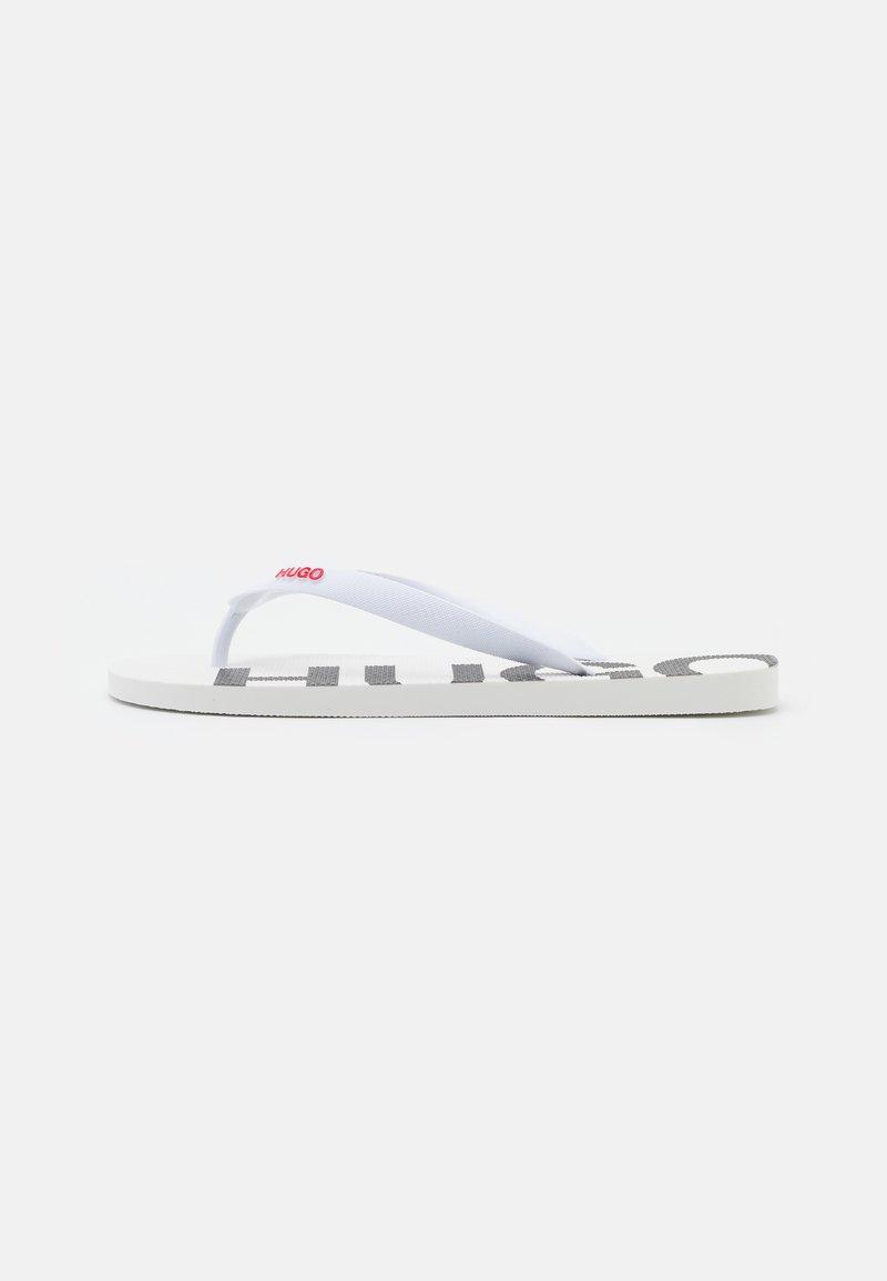 HUGO - ONFIRE - T-bar sandals - white