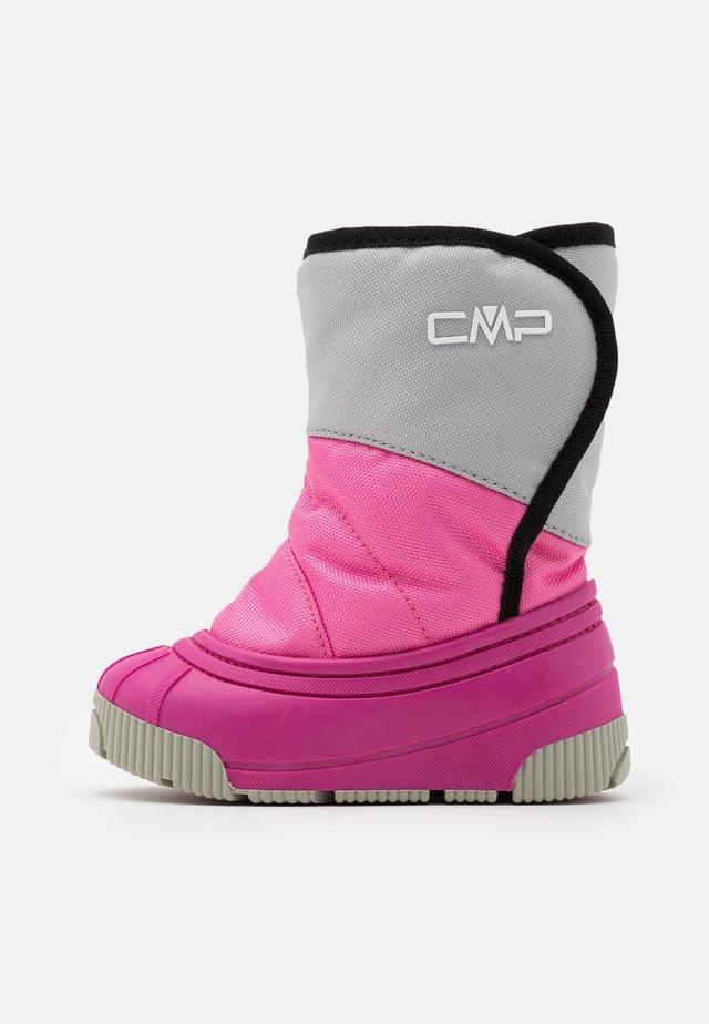 BABY LATU UNISEX - Snowboots  - ice/pink