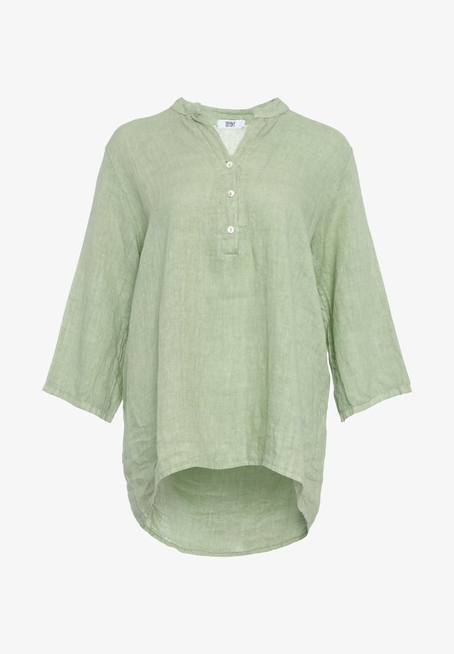 Blouse - light army