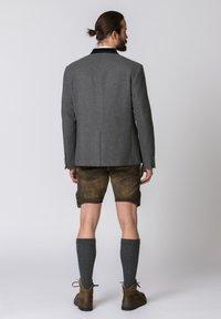 Stockerpoint - QUINTUS - Blazer jacket - stone-night blue - 2