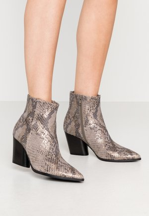 AMBER - Bottines - taupe