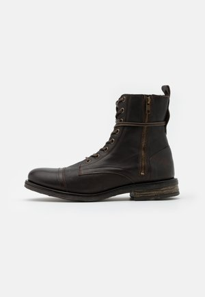 STIGMA BOOT - Lace-up ankle boots - brown