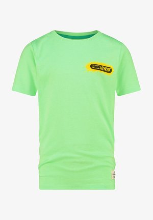 Print T-shirt - fresh neon green