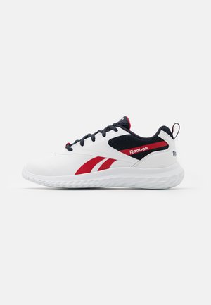 RUSH RUNNER 3.0 UNISEX - Zapatillas de running neutras - white/night navy/vector red
