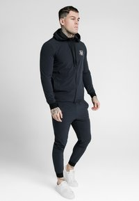 SIKSILK - AGILITY ZIP THROUGH HOODIE - Lehká bunda - midnight navy - 0