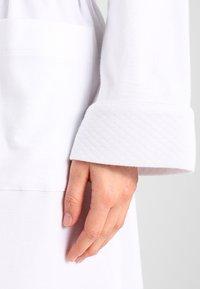 Lauren Ralph Lauren - ESSENTIALS COLLAR ROBE - Dressing gown - white - 4