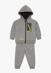 Nike Sportswear - LEBRON PANT SET - Mikina na zip - grey heather - 0
