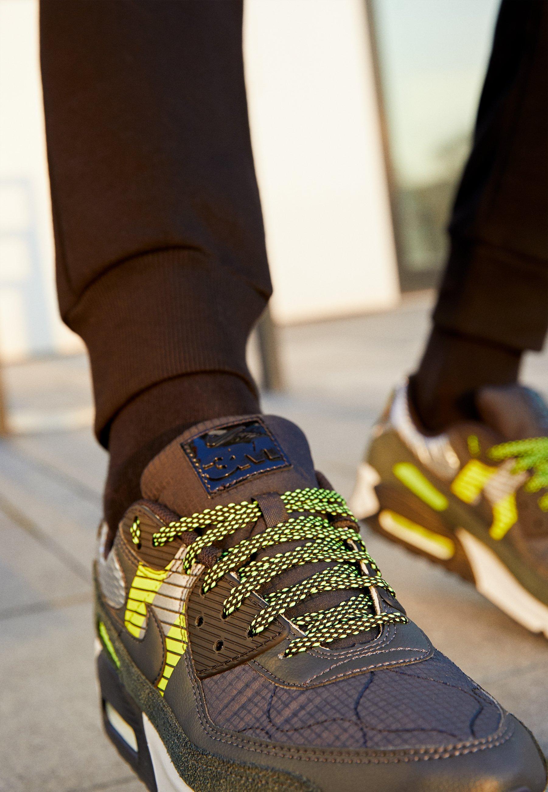 Nike Sportswear AIR MAX 90 3M UNISEX - Baskets basses - anthracite ...