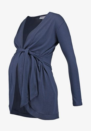 MILONGA - Strikjakke /Cardigans - navy blue