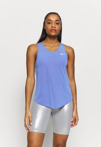 Nike Performance - TANK BREATHE - Tekninen urheilupaita - sapphire - 0