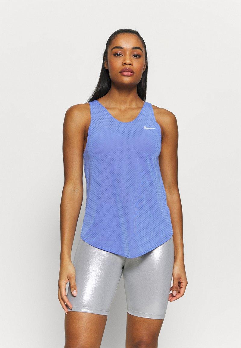 Nike Performance - TANK BREATHE - Tekninen urheilupaita - sapphire