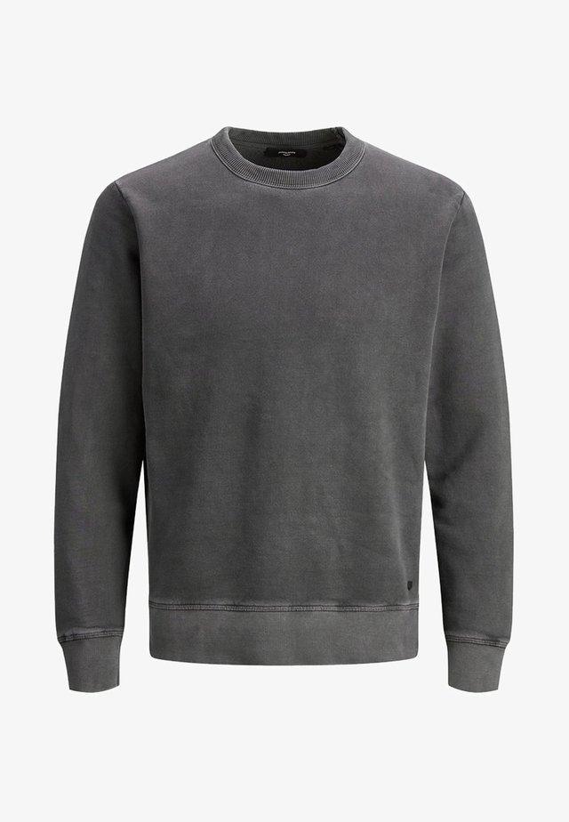 SWEATSHIRT RUNDHALSAUSSCHNITT - Sweatshirt - black