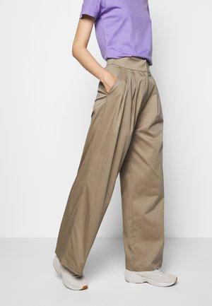 HERA COSA - Trousers - beige